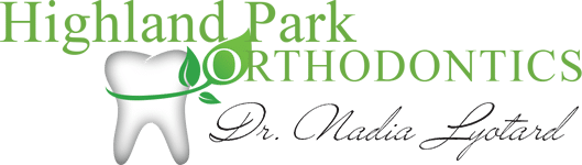 logo for highland park orthodontics